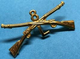 Circa 1095-1918, U.S. Army, L Company, 8th Infantry, Cap Device, Vintage - $11.65