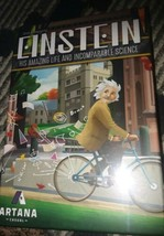 Einstein Board Game New Sealed His Amazing Life and Incomparable Science - $21.78