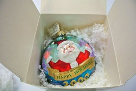 """Polonaise Collection by Komozja """"Happy Holiday Ball"""" Ornament AP 1227 - $23.99"""