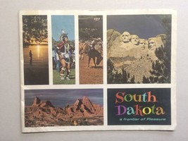 Large 1960s South Dakota Travel Booklet Vintage Travel Indians Mt. Rushmore - $20.00