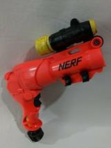 NERF Air Jet Power Secret Shot II Dart Foam Gun Pistol Pump Hasbro 1998 Vintage - $22.76