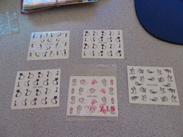 NAIL ART WATER TRANSFERS (CATS)  #1 - $6.93