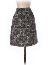 Ann Taylor Loft Size 0 Skirt Brown Tile Jacobean Print Silk Skirt - $17.00