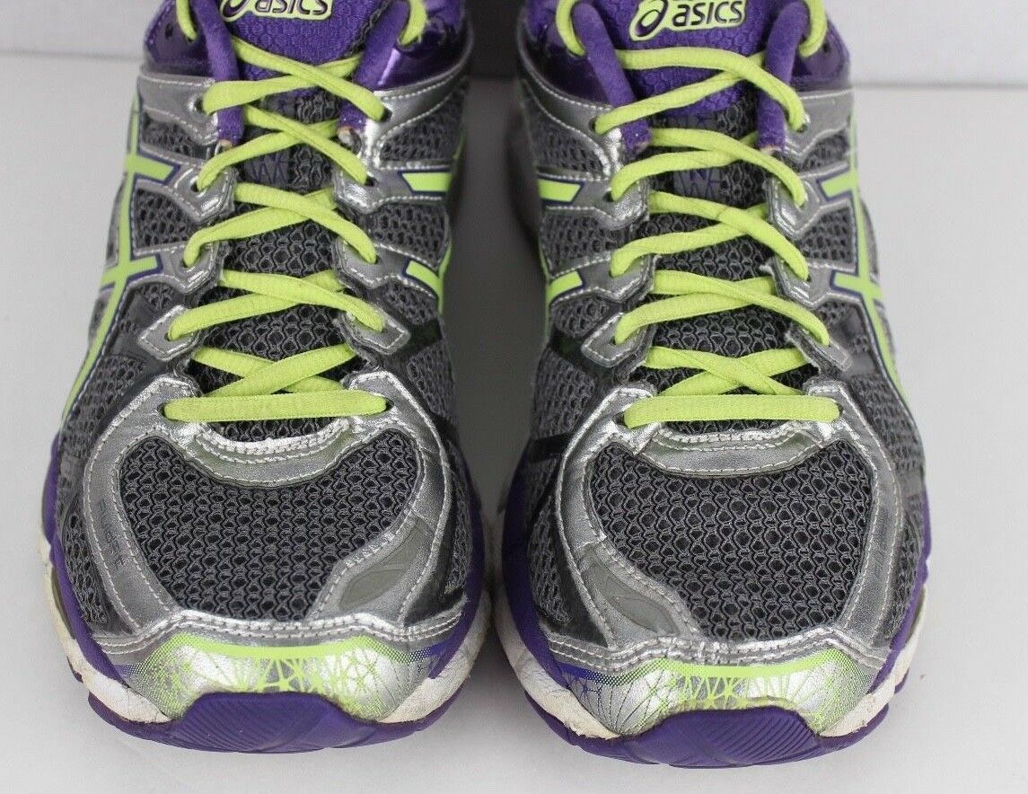 Asics Damen Gel Kayano 21 Dynamische Duomax Laufen Sneakers Lila Größe 9.5