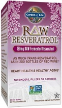 Garden of Life Heart Resveratrol Supplement - Raw Whole Food Antioxidant Formula - $87.00