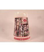 "Cincinnati Reds Ceramic Beer Stein 1999 SGA ""Hometown Reds"" - $10.01"