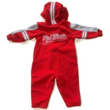 Adidas 18M NHL Red Wings Fleece One Piece Jumpsuit Jacket Warm Hockey De... - $19.75