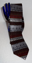 """NWT Antionia men's tie 59"""" X 4"""" Hand made tie 100% Silk New Very Nice Dry Clean image 3"""