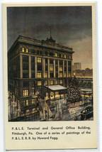 P&LE Railroad Depot Terminal General Office Pittsburgh PA Howard Fogg po... - $6.44
