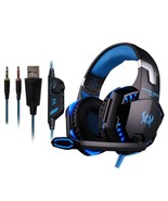 Gaming Headphone Headset 3.5mm With Microphone Computer LED Gamer Stereo - $40.71
