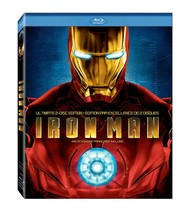 Iron Man (Ultimate 2-Disc Bilingual Edition) [Blu-ray] - $15.34