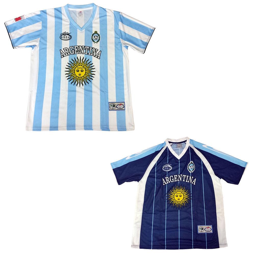 New Men/'s Mexico Jersey Arza Soccer Design Long Sleeve Black 100/% Polyester