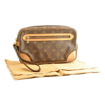 LOUIS VUITTON Monogram Marly Dragonne GM Clutch Bag M51825 LV Auth 8753 - $270.00