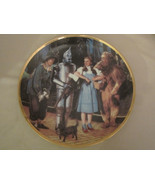 OFF TO SEE THE WIZARD collector plate WIZARD OF OZ 50th Anniversary BLAC... - $39.99