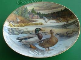 Nice Collectible Knowles The Mallard Plate, Bart Jerner, 1986, CTO Original Box - $19.79