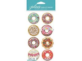 Jolee's Boutique Dimensional Donut Stickers for your Sweet Side!