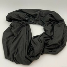Beyond Yoga Hidden Pocket Infinity Scarf Athleisure Fitness Black Fabfit... - $14.20