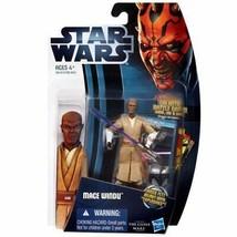 Star Wars: Clone Wars 2012 Animated Series 3.75 inch Mace Windu Action F... - $23.04