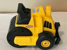 "Tonka Paving Road Paver Truck 9"" Long Yellow Black Plastic - $14.98"