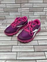 Reebok Yourflex Woman's Size 4.5 Purple Pink Sneakers - $14.84