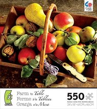 Ceaco-550 Piece Farm to Table - Fruit Jigsaw Puzzle by Ceaco - $29.98