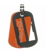 Call of Duty War Game Black Ops II Knock Out Logo Dog Tags NEW UNUSED - $7.84