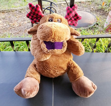 """Converted 24"""" Stuffed Animal """"Reindeer"""" Ventriloquist Puppet *Custom * E21 - $15.00"""