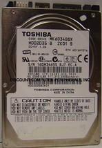 "60GB 2.5"" SATA MK6034GSX 9.5mm Hard Drive Toshiba Tested Good Our Drives Work - $10.73"