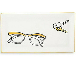 """Kate Spade Daisy Place Large Eyeglass Tray 11x6"""" Porcelain New In Box - $72.90"""