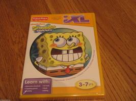 Spongebob squarepants IXL learning system game 3-7 yrs NEW Fisher price writing  - $16.48