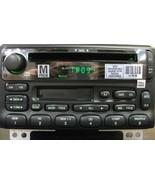 Ford CD Cassette radio + CDC. OEM factory original stereo - $105.91