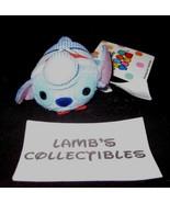 "Disney Parks Authentic USA Train conductor Stitch Tsum Tsum 3.5"" plush s... - $18.99"