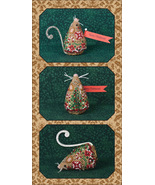 Original Gingerbread Mouse Ornament kit LIMITED EDTION 2017 Just Nan - $13.50