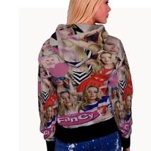 Iggy azalea music collage womens hoodie back thumb200