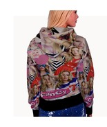 Iggy Azalea Music Collage WOMENS HOODIE - $40.99+