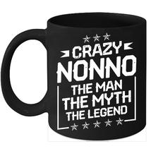 Crazy Nonno 11oz Coffee Mug Gift Awesome Family Coffee Mug Grandpa gifts - $15.95