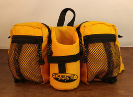 Stansport Lumbar Hiking Camping Walking Trail Fanny Pack Yellow W/ Drink... - $22.24