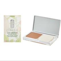 Clinique Acne Solutions Powder Makeup 14 Vanilla MF-G Large Full Size NIB Mirror - $13.97
