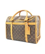 Authentic LOUIS VUITTON Sac Chien Dog Pet Carrier Bag Travel Case #32043 - $1,250.00