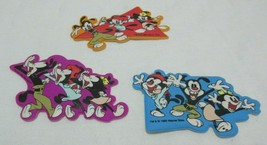 Set of 3 Vintage Animaniacs Puffy Refrigerator Fridge Magnets Warner Bro... - $29.99
