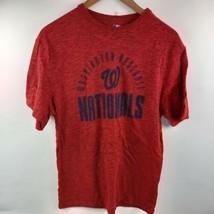 Washington Nationals Baseball T-shirt MLB Genuine Merchandise Red S M XL - $9.90+