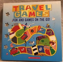 Travel Games: Fun and Games on the Go by Scholastic Kids Travel games book Set - $9.00