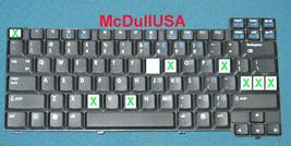 Compaq NX5000 349181-001 Keyboard INDIVIDUAL KEY (ONE KEY ONLY)