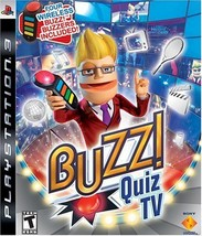 Buzz! Quiz TV - Playstation 3 [video game] - $69.30