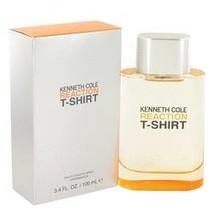 Kenneth Cole Reaction T-shirt Cologne By Kenneth Cole 3.4 oz Eau De Toil... - $35.63