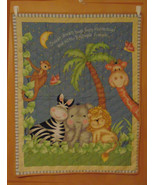 Baby Sweet Dreams Quilt or Blanket, Child's Wall Hanging Quilt, Crib Bla... - $42.00