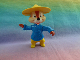 Vintage 1993 McDonald's Epcot Center Chip in China PVC Action Figure - $2.54