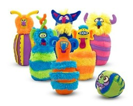 An item in the Toys & Hobbies category: Melissa & Doug Deluxe Monster Plush Bowling Game