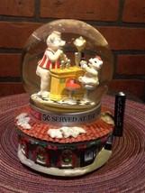Rare Vintage Coca Cola Musical Snow Globe w/Bea... - $16.85