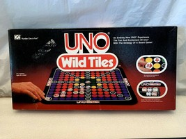 1982 UNO WILD TILES STRATEGY BOARD GAME GUC - $12.86